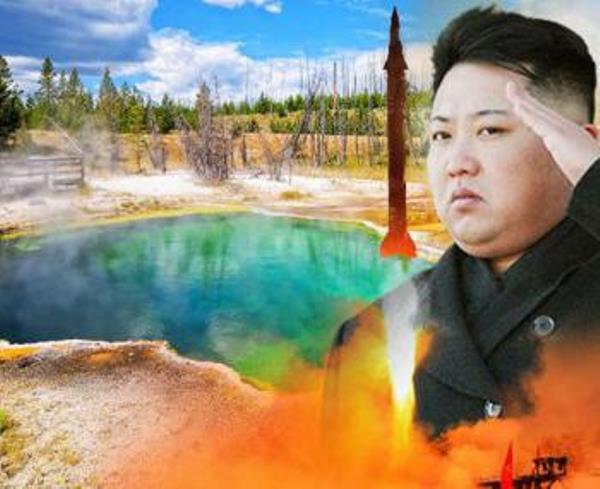 КНДР ще бомбардира Йелоустоун, за да накаже ФАЩ