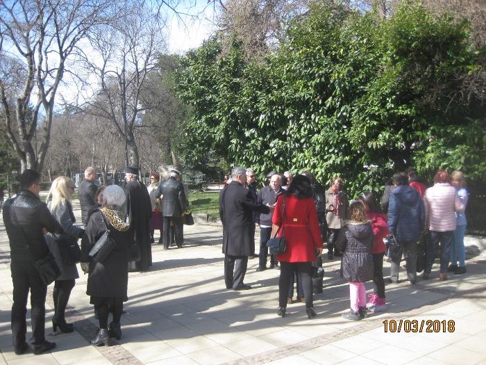 ВЪВ ВАРНА почетоха спасението на нашите евреи