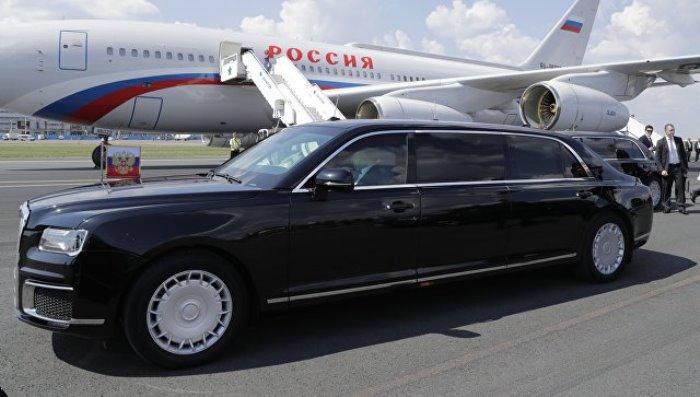 ЛИМУЗИНАТА на Путин е по-добра от Тръмповата