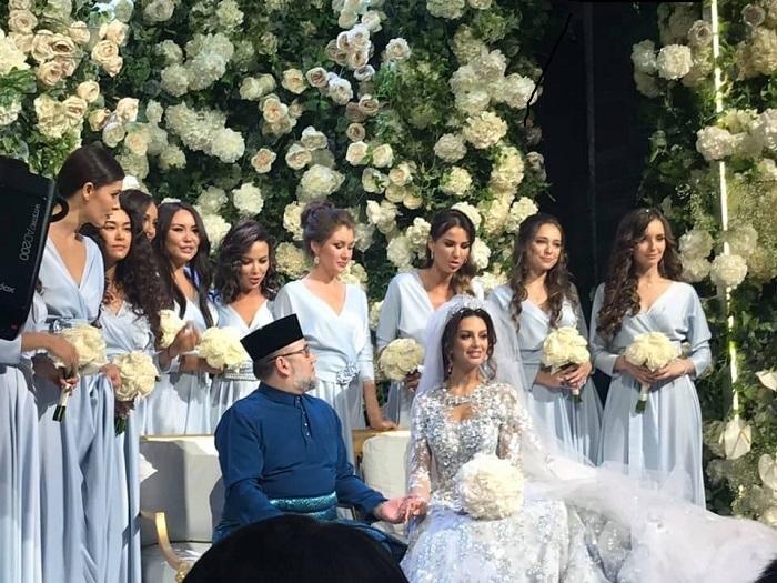 """КРАЛЯТ на Малайзия се ожени за """"Мис Москва - 2015"""""""
