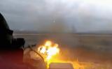 РАЗГРОМ на огромна украинска военна колона в Донбас