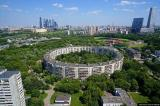 КРЪГЛИТЕ сгради-колоси в Москва