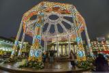 МОСКВА: Носталгична новогодишна разходка из сияещия град