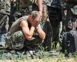"""УКРО""""РИЦАРИТЕ"""" в плен плачат на Алеята на ангелите в Донецк"""